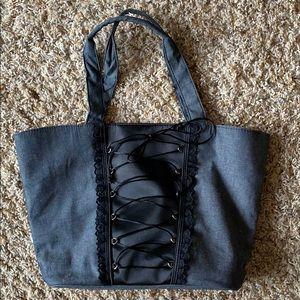 Victoria's Secret Lace Up Bag